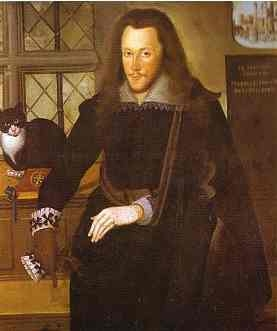 Henry Wriothesley imprisoned in the Tower of London.